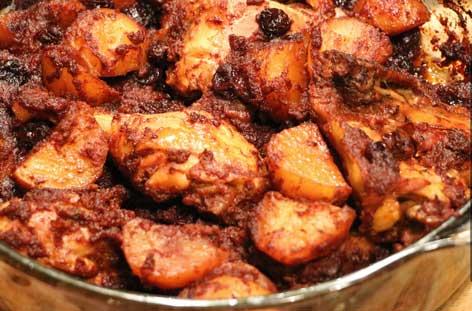 Receta-de-Pollo-al-Horno-con-Pasitas