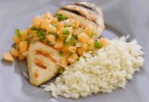 Receta-de-Pollo-Asado-con-Salsa-de-Melon