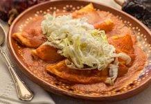 Como hacer Enchiladas Suizas Rojas